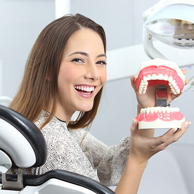 Quality Dentures at The Office of Dr. Paul Burns DDS in El Dorado AR Area